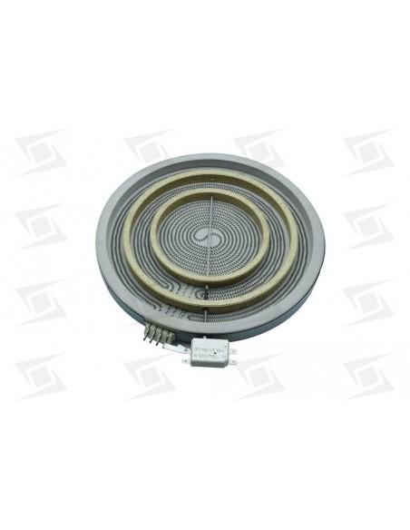 Resistencia  Triple Vitro E 300mm 2700-1950-1050  Con Calor Residual