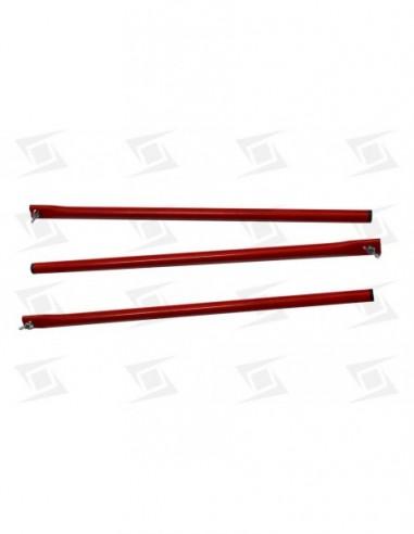 Conjunto 3 Patas Rojas Quemadores