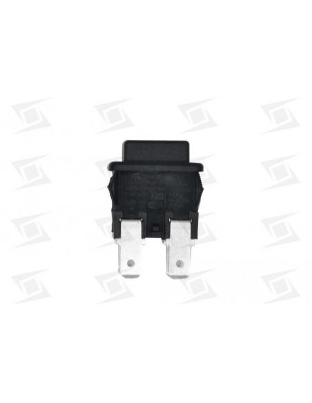 Interruptor  Pulsante Tecla Negra  19x13 (4 Faston) Sta