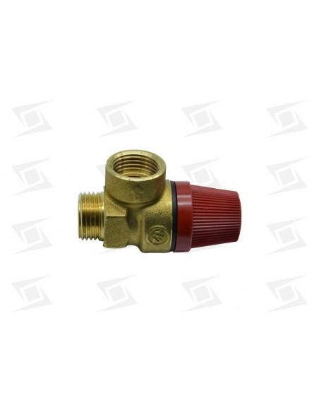 Valvula Seguridad Termos Standar  M-h 1-2 3 Bar.