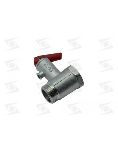 Valvula Seguridad Termo  Standar  0m21x175mm 1-2