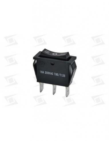 Interruptor Basculante 30x11mm 2 Posiciones  230v 16a   I O Ii Sta