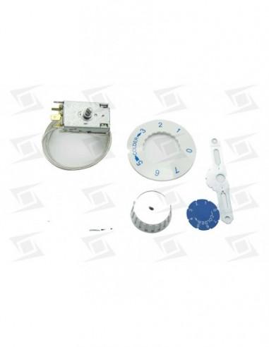 Termostato Congelador Frigorifico Standar -34--12 Capilar 2000mm Vs5