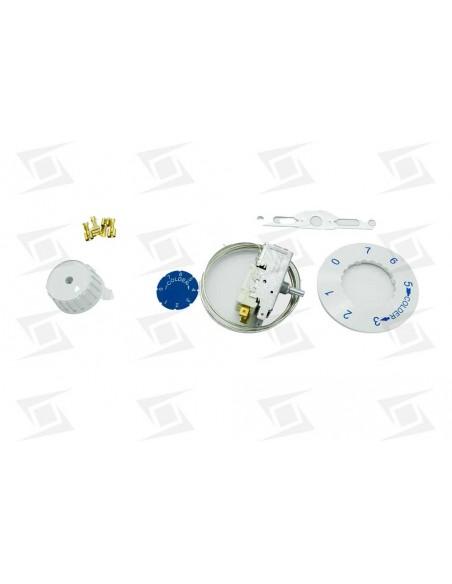 Termostato Frigorifico Dos Puertas Standar -26- +3 Capilar 1200mm Vt9 K59-l1102