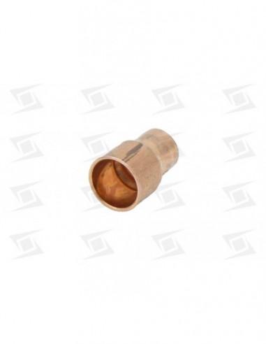 Manguito Reduccion Soldada Cobre De 1-2 A 3-8