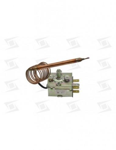 Termostato Regulable   0-90º  Long 1000mm Diam Bulbo 6mm Lavavajillas Sta   C-ma