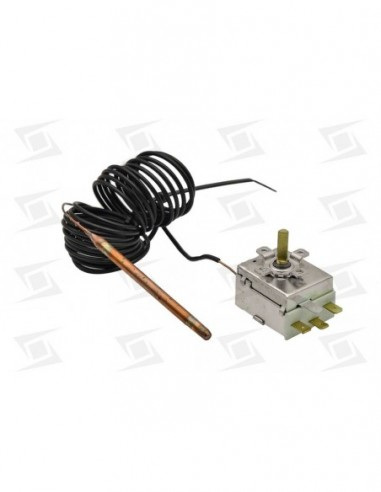 Termostato Regulable   0-90º  Long 3000mm Diam Bulbo 6mm Lavavajillas Sta