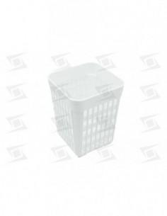 Cesto Cubiertos Plástico 110x110x130mm Lavavajillas Estandar