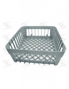 Cesto Vasos  350x350x150mm Plastico Lavavajillas Estandar