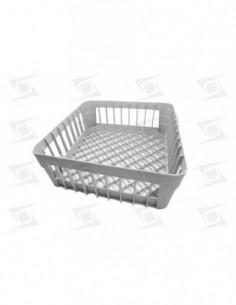 Cesto Vasos 380x380x150 Plastico Lavavajillas Estandar