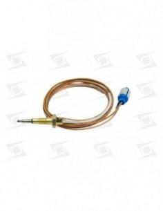 Termopar Conector Coaxial Azul C- Termopares Largo:  750 M6 X 0.75 2mm