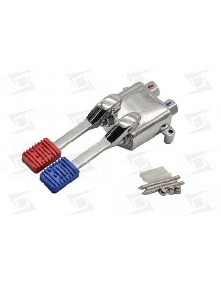 Grifo Pedal Mezclador Agua Fria-caliente 240x91x70