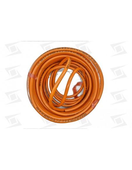 Tubo De Gas Butano Sta   Naranja     1000mm.