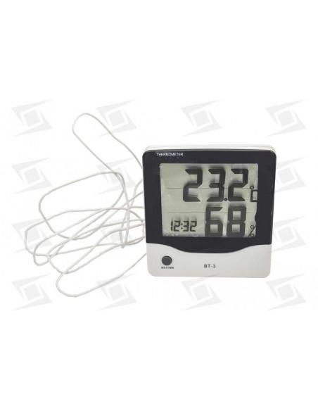 Termometro Higrometro(20-99%) Digital Tst-bt3 Tªint (-30-+50) Y Ext(-50-+70) C-m