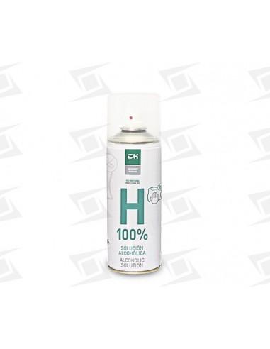 solucion alcoholica 100% spray