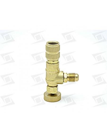 llave valvula conexion sin perdida 1/4 h x 1/4 m calidad value
