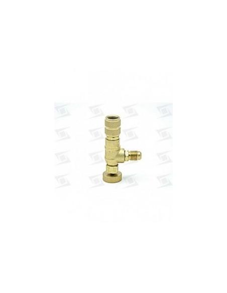llave valvula conexion sin perdida 1/4 h x 1/4 m