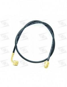 Tubo Capilar Poliamida 1/4 - 1/4 Recto - Codo  600mm · Tfrcce080
