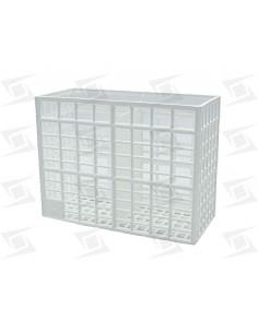 Cesto Cubiertos Plástico 130x55x100mm