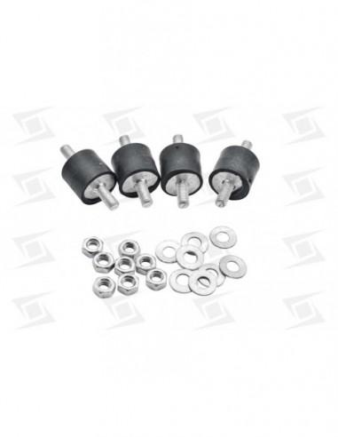 Amortiguadores Cilindrico 2 Tornillos 30x20mm (4 U)
