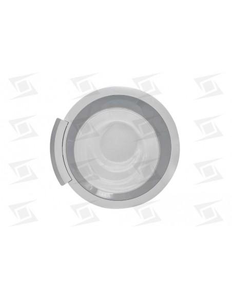 Puerta Escotilla Lavadora  8 Kg Balay Bosch Siemens Blanco-silver Completa