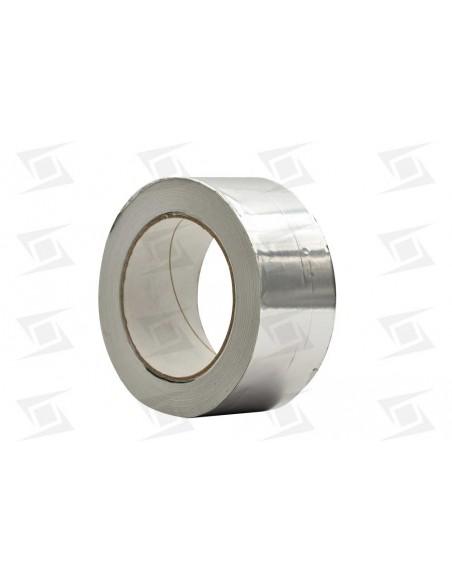 Cinta Aluminio Adhesiva Rollo 50mx50mm