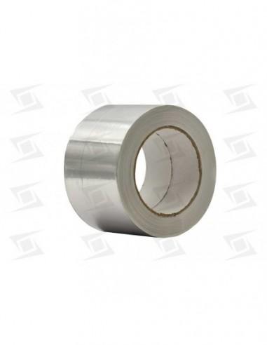 Cinta Aluminio Adhesiva Rollo 50mx75mm