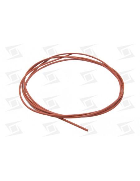 Funda Cable Silicona Alta Temperatura 3mm Fibra De Vidrio