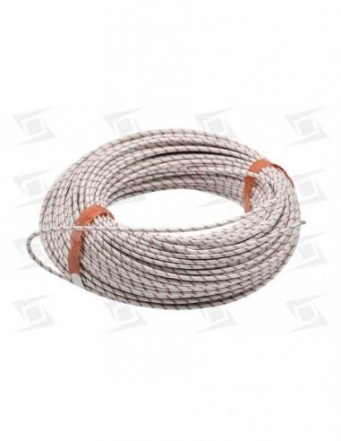 Cable Silicona  Alta Temperatura C-recubrimiento 2.5x1000mm Calidad