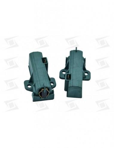 Escobilla Motor Lavadora C-portaescobilla  5x13x35  (2u) Corte Izquierda  Verde