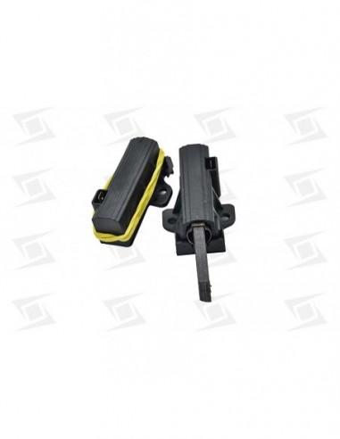 Escobilla Motor Lavadora C-portaescobilla  5x12.5x35  (2u) Corte Izquierdo