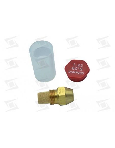 Inyector Gasoleo Danfoss S60º 1.25g  4.71 Kg-h
